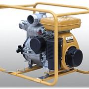 Мотопомпа бензиновая для сильнозагрязненных жидкостей PTG305T фото