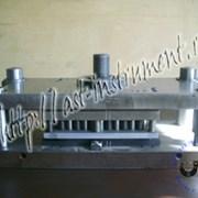 Разработка и изготовление штампов. фото