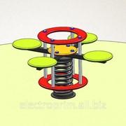 Качалка на пружине модель А02-4 Детская качалка фото