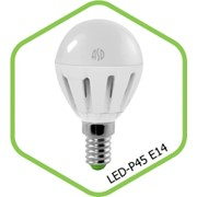 Лампа LED-Шар-standard. 3,5 Вт. 220 В. Е 14. фото