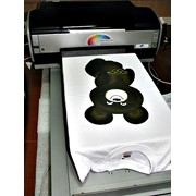 Прямая печать на тканях фото