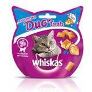 Лакомство для кошек Whiskas Duo Treats c лососем и сыром 40 г фото