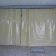 Пошив шторы для автомойки фото