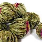 Зеленый чай Цветочные Жемчужины фото