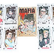 "Карточная игра ""Мафия Чикаго"", Задира-Плюс, 20 карт, 4083 фото"
