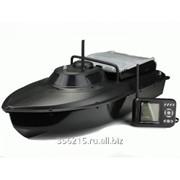 Радиоуправляемый катер Jabo-2BL с возможностью доставки прикормки для рыб фото
