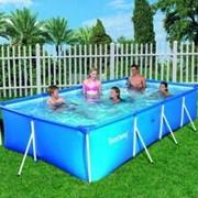 Каркасный бассейн Bestway 399х211х81см 56044 фото