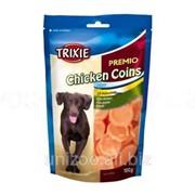 Лакомство для собак куриное Монеты Trixie Premio Chicken Snack 100 гр фото