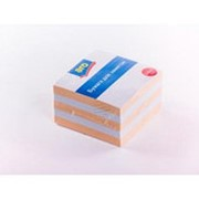 Блоки для записей ARO цветные, 9х9х5см фото