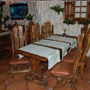 Деревянная мебель для баров фото