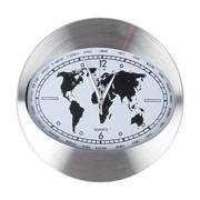 Часы 30см 3108-1 белый металлический корпус фото