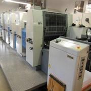 Офсетная листовая красочная печатная машина фото