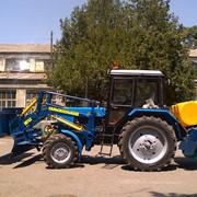 Щётка коммунальная МК454 на трактор мтз фото