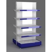 Порошковая (Полимерная) покраска торгового оборудования- стеллажей, прилавков, витрин и т.п фото