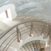 Balustrade pentru scări rotunde фото
