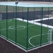Строительство спортивных сооружений. фото