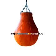 Груша боксерская из натуральной кожи 1,7 мм ( ГБН14-8)60кг 307 фото
