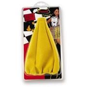 Чехол на КПП желтый KD-016 yellow, Чехлы кожаные фото