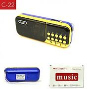 Колонка радиоприемник C-22 FM/MP3/SD/USB/AUX фото
