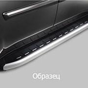 Пороги Audi Q5 2008 - 2017 (алюминиевые Alyans) фото
