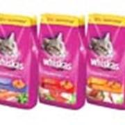 Корм Сухие рационы Whiskas (подушечки) для взрослых кошек 1,9 кг фото