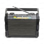 """Радиоприемник, УКВ 64-108МГц, батарея 2*R20, 220V, """"Vikend Disco"""" microSD фото"""