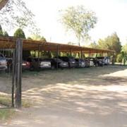 Автомобильная охраняемая стоянка при санатории фото