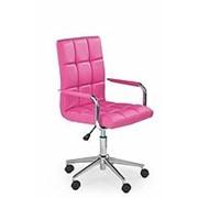 Кресло компьютерное Halmar GONZO 2 (розовый) фото