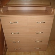 Комод пеленатор Макси 5 шуфляд, столик 90*70 см фото