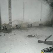 Отверстия в стенах для закладных балкона. фото