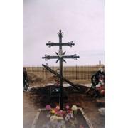 Кресты из художественной ковки фото