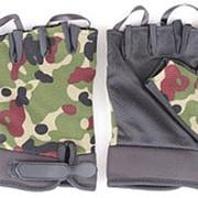 Перчатки трикотажные беспалые кмф. фото