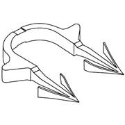 Гарпун-скоба RAUTAC для труб диаметром 14-17 мм 240221002 фото