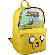 Рюкзак молодежный Adventure Time AT15-970-1M. Размер М для подростков ростом 130-145см 29692 фото