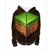 Толстовка 3Д Майнкрафт, Minecraft №1 фото