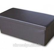 Пуф раскладной 37,5*37,5*70 см, коричневый 40522164
