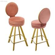 Барные стулья высокие N02-03 фото
