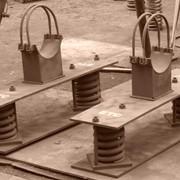 Материалопроводы - опоры пружинные фото
