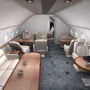 Пассажирские и VIP версии салона Як-42 фото