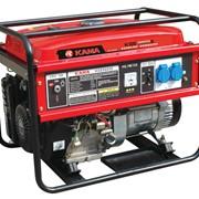 Бензиновый генератор (электростанция) Kama KGE6600E фото