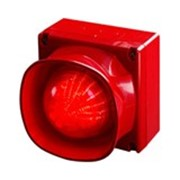 Оповещатель светозвуковой с несколькими тональными сигналами для открытых площадей с защитой от атмосферных воздействий 55000-298 фото