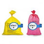 Пакет для медицинских отходов 500х600 30л (Класс А,Б,В,Г) 25 мкм (1000 штук / упаковка) 25 мкм фото