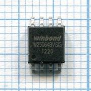 Микросхема ПЗУ W25Q64B фото
