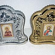 Иконостас МАЛЫЙ золото/серебро 21см фото