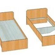 Двухспальная кровать Эконом, для базы отдыха фото