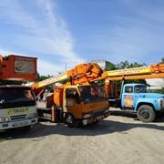 Услуги автовышек в Одессе, высотой 16-21-24-28 м фото