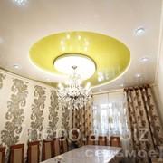 Потолок для гостиной «Улитка». фото