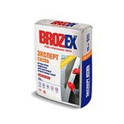 Штукатурка Brozex Эксперт CPM-31 цементная для наружных и внутренних работ 25 кг фото