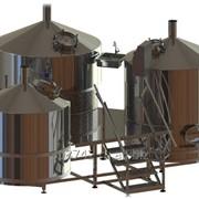 Пивоварня, варочный порядок 5000л фото