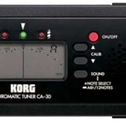 Тюнер цифровой Korg CA30 фото